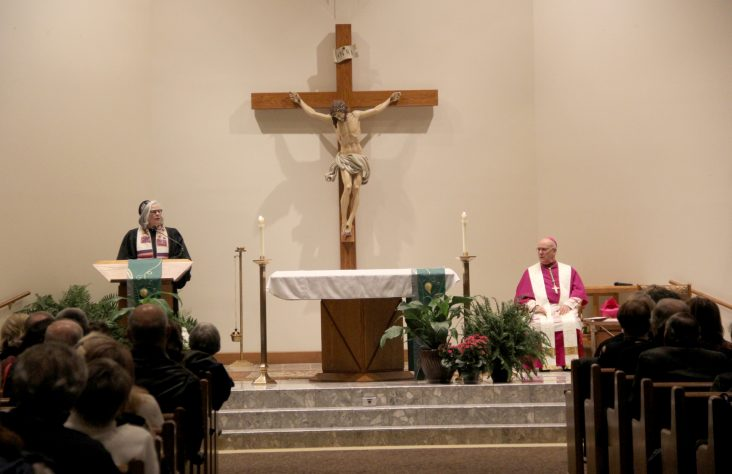 Violins sound notes of hope at interfaith prayer service