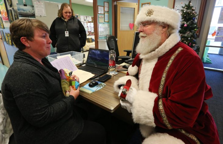 Santa has heart for bringing joy, true meaning of Christmas to children