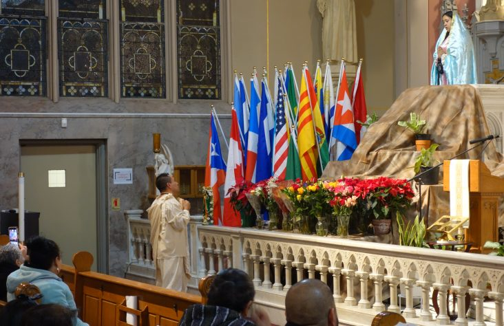 Feast of Our Lady of Guadalupe brings parishes of different cultures together