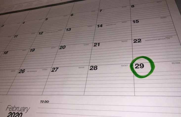 Leap year's extra day has a Catholic origin