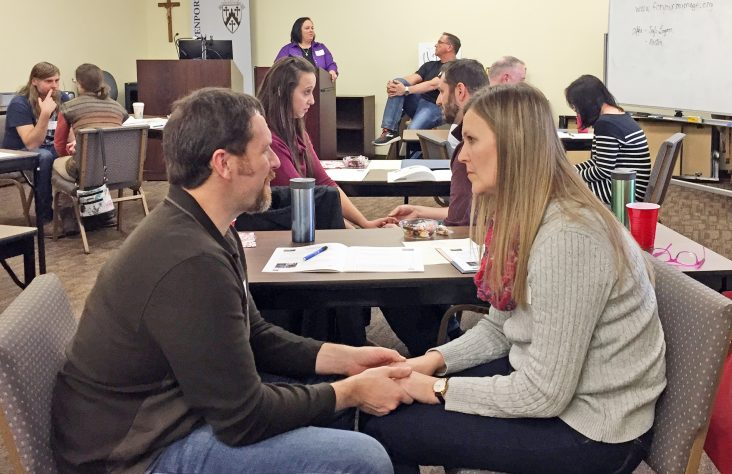 Marriage preparation for previously married couples gives unique emphasis