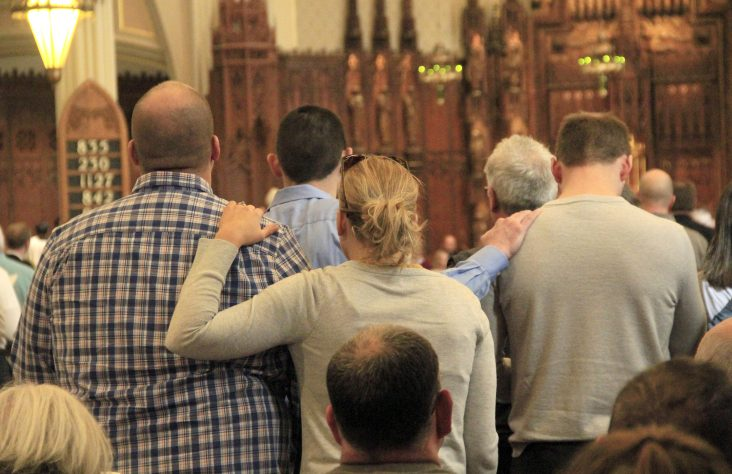 Candidates, catechumens declare intentions to enter into full communion with Church