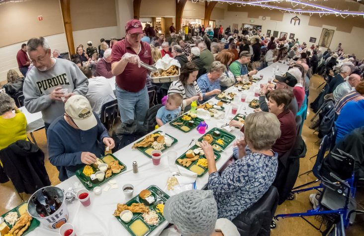Before suspension of Lenten fish fries, fellowship and fun were their primary blessings