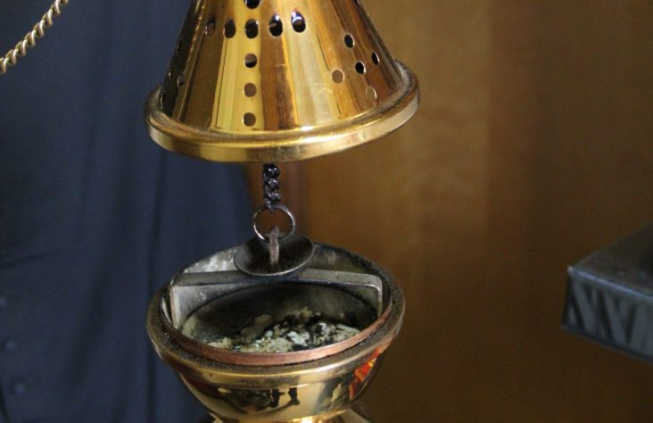 A visible illustration of holiness: incense