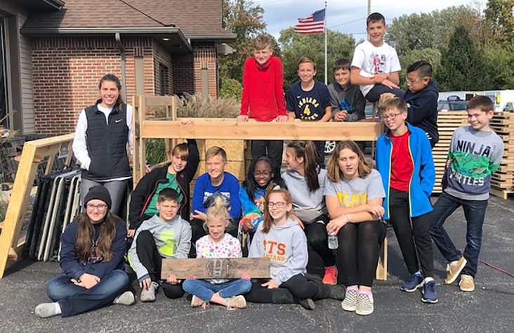 Elkhart students blanket city with JOY