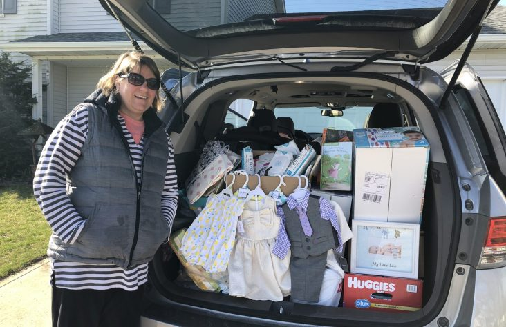 Canceled baby shower garners donations for Women's Care Center
