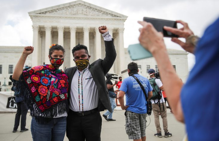 Reaction positive to Supreme Court decision on bid to end DACA