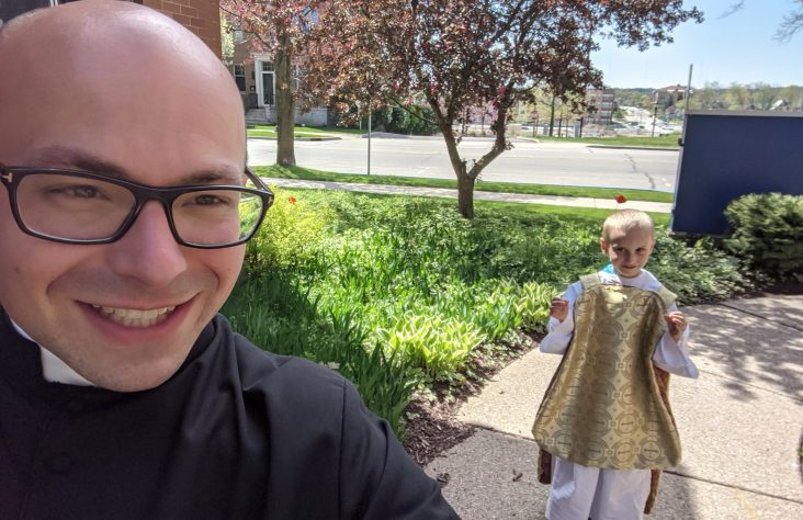 Growth blesses parish committed to joy, RCIA and modern methods of communication