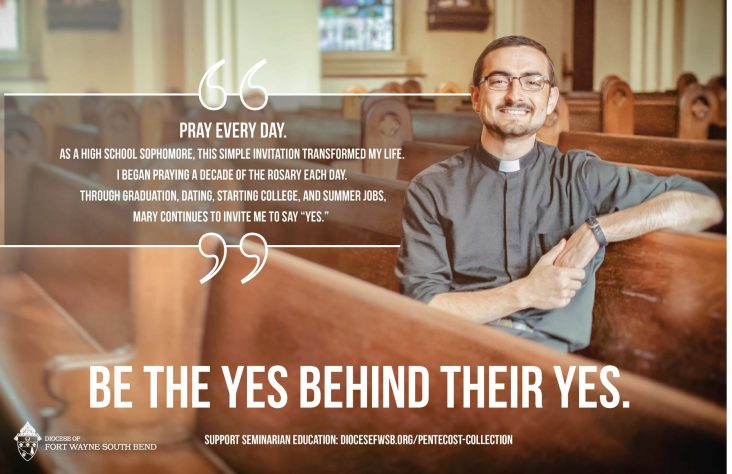 Overwhelming generosity displayed for seminarian education