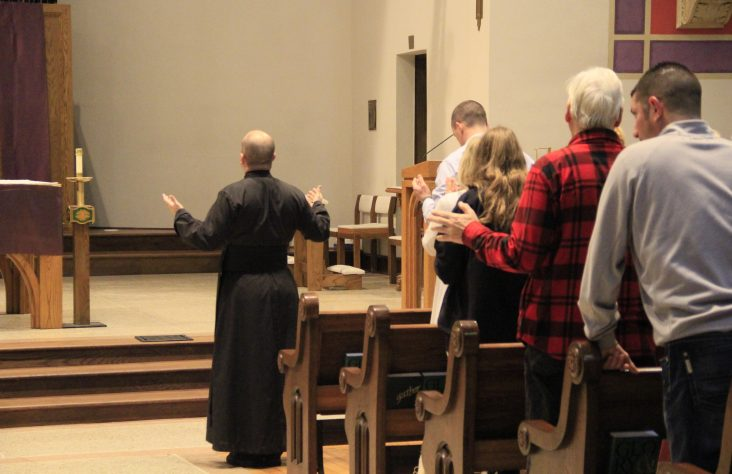 Holy Spirit moves at healing services