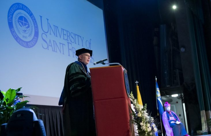 Events mark inauguration of  Father Dr. Eric Zimmer, president of USF