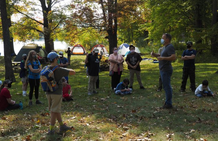 Catholic Camporee teaches love of faith, nature