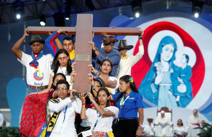 WYD cross to be given to Portuguese young people at pope's Mass Nov. 22