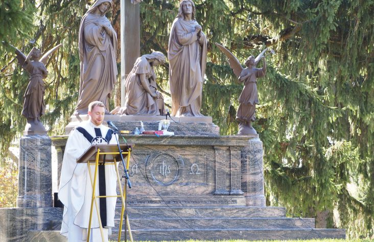 Parishes commemorate All Souls' Day