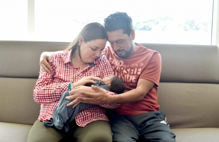 Family welcomes baby after 13 years
