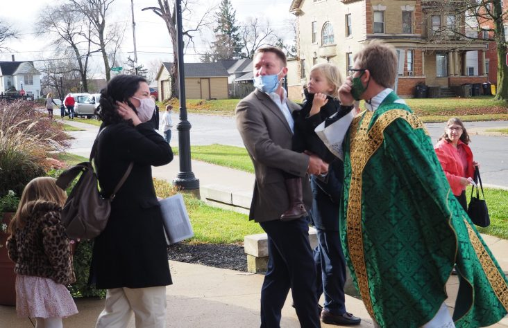 Priests make headway at new parishes during pandemic