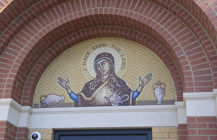 Oratory's sacred art honors beauty Mary Magdalene saw in the risen Lord