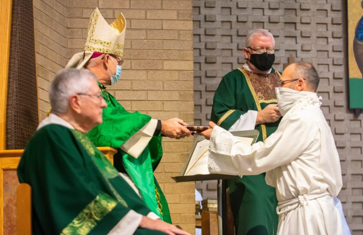 Candidates for diaconate instituted as lectors