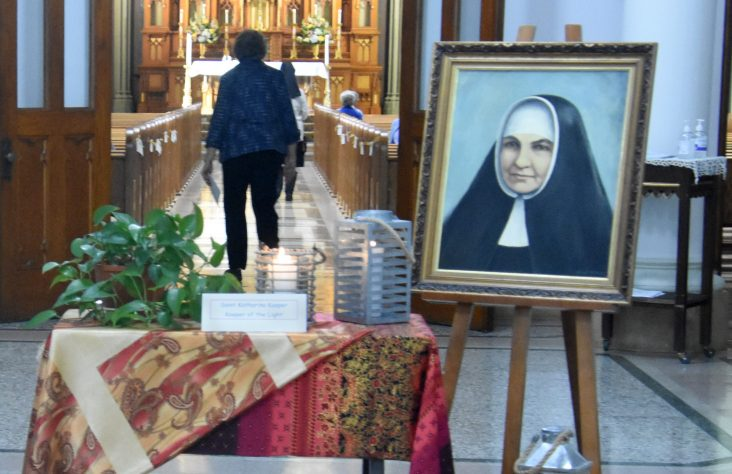 Celebrating the feast of St. Katharina Kasper, PHJC foundress