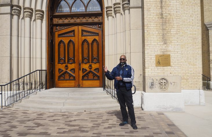 Black Catholic poet shares experience in verse