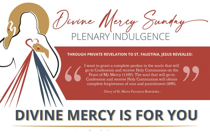 Plenary indulgence offered on Divine Mercy Sunday