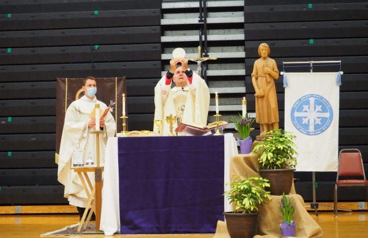 Pastoral visit honors St. Joseph, model of faithfulness