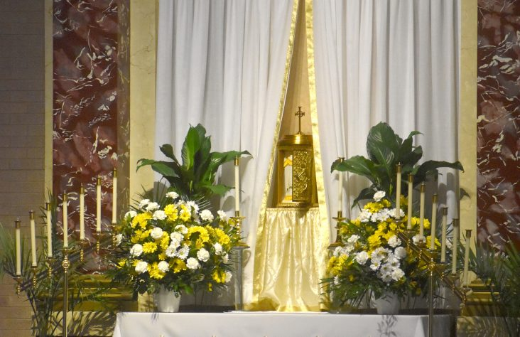 'The start of the triduum: Holy Thursday Mass'