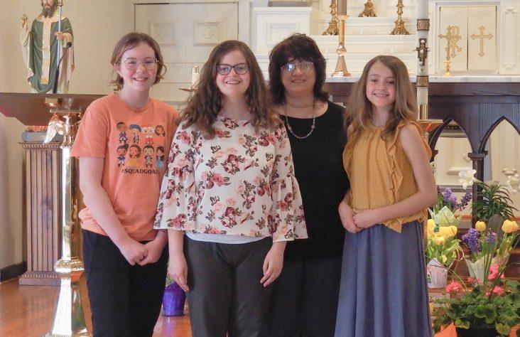 Young cantors inspire Walkerton parish