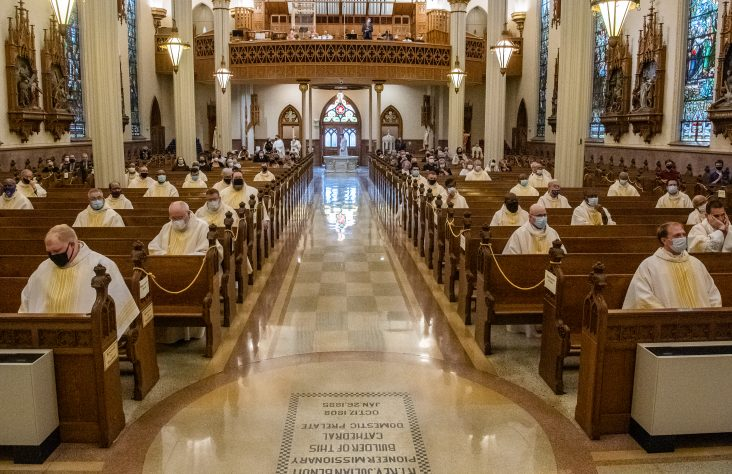 Chrism Masses emphasize mission of the priesthood