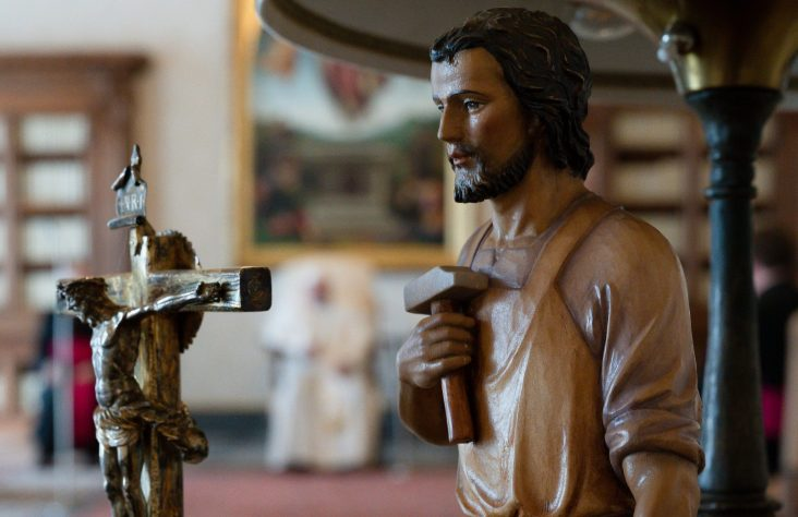 For fathers, St. Joseph is strong model of humility, service, says priest