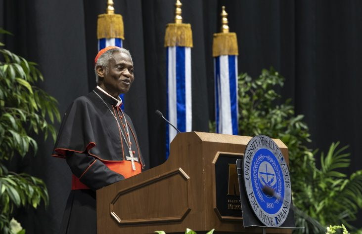 Cardinal Turkson urges graduates to impact troubled world