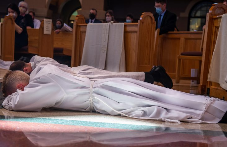 Priesthood candidates anxious to be transformed by God's grace