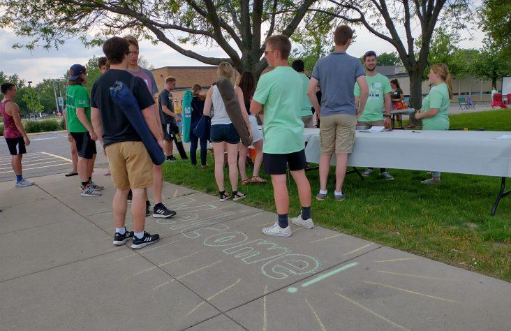 College Crew kicks off at St. Charles Borromeo