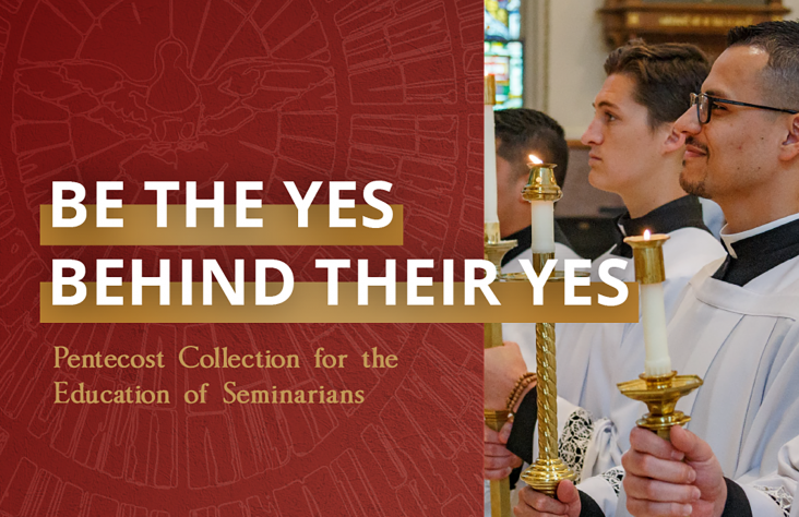 Education of future priests braced by Pentecost Collection