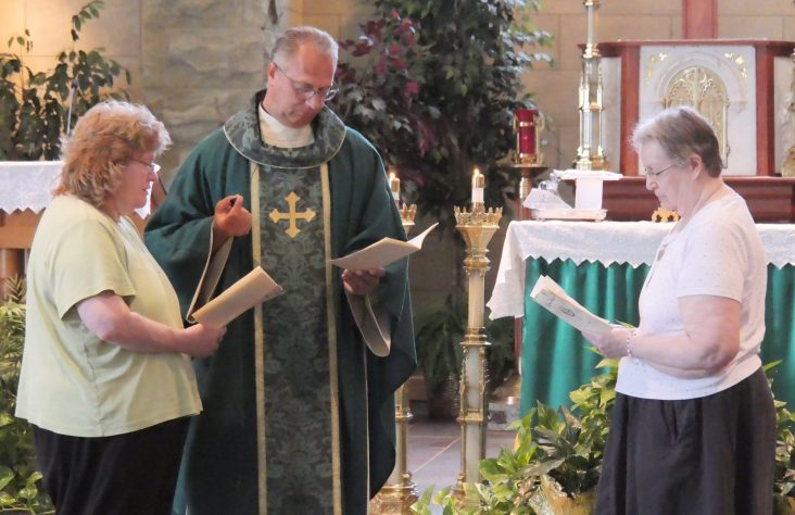 Widows profess lives of prayer for priests