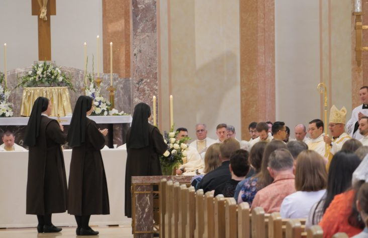 Sisters of St. Francis of Perpetual Adoration profess final vows