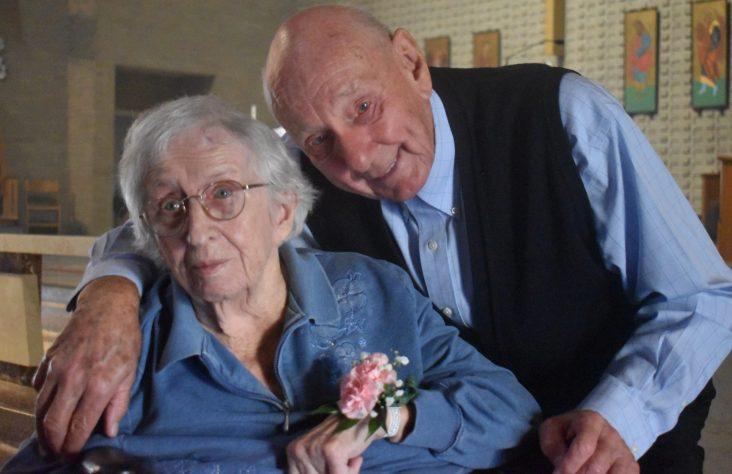 United to divine love: wedding  anniversary couples celebrate