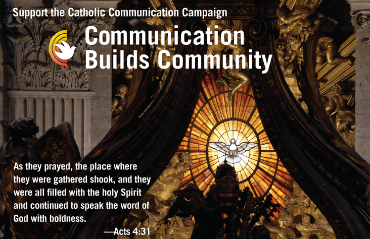 Annual collection for USCCB's Catholic Communication Campaign is Sept. 11-12