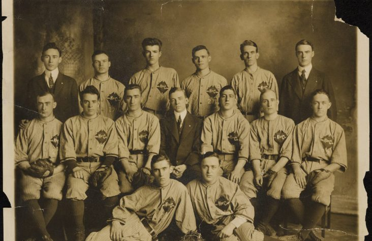 Baseball exhibit pays homage to Blessed McGivney's love of the game