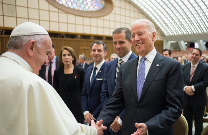 U.S. nuncio says he'll stay, helps prepare for synod, Biden-pope meeting