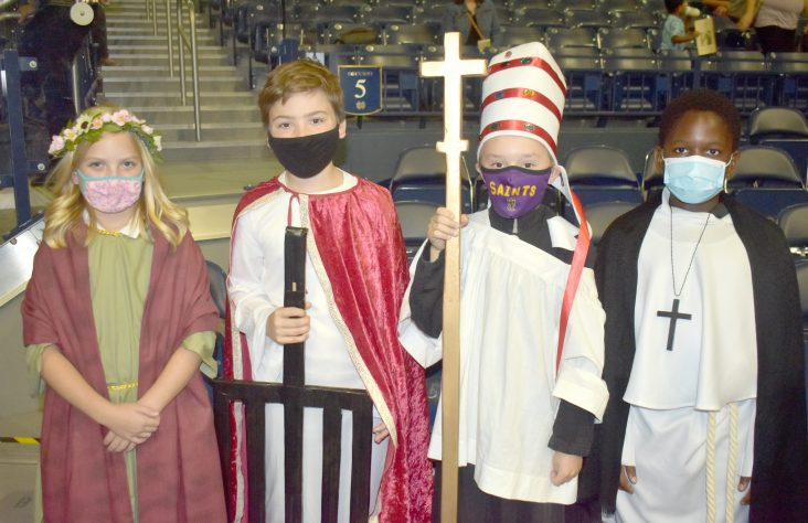 Desiring to become saints: South Bend All-Schools Mass