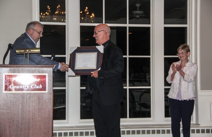 Bishop Rhoades honored as Notre Dame Club of Fort Wayne Person of the Year