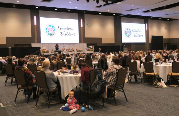 Love for God, self and others blossoms at Kingdom Builders conference